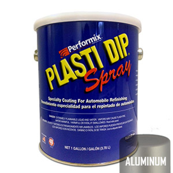 Plasti Dip Spray Gallon Aluminium