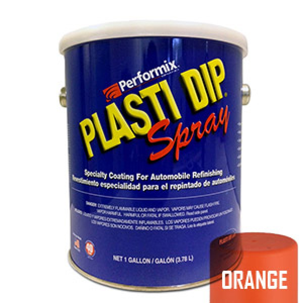 Plasti Dip Spray Gallon Safety Cone Orange Mat