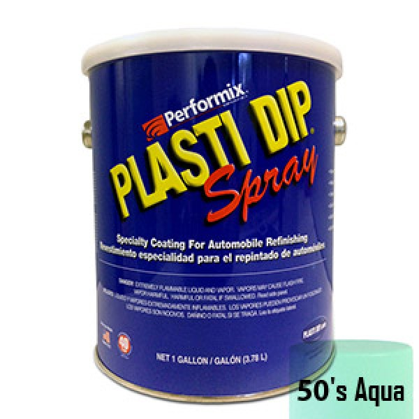Plasti Dip Spray Gallone 50's Aqua