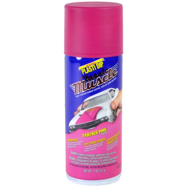 Plasti Dip Spray Aerosol Can Panther Pink Mat