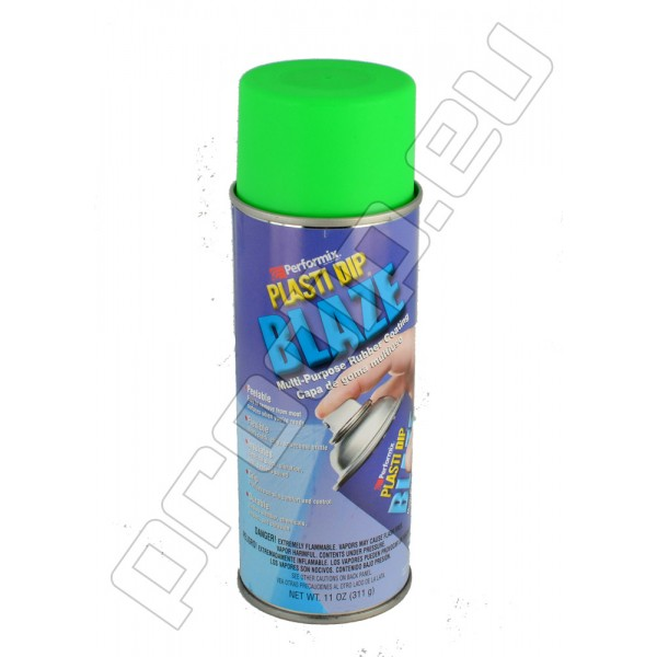 PLasti Dip Spray Aerosol Can Blaze Green Mat