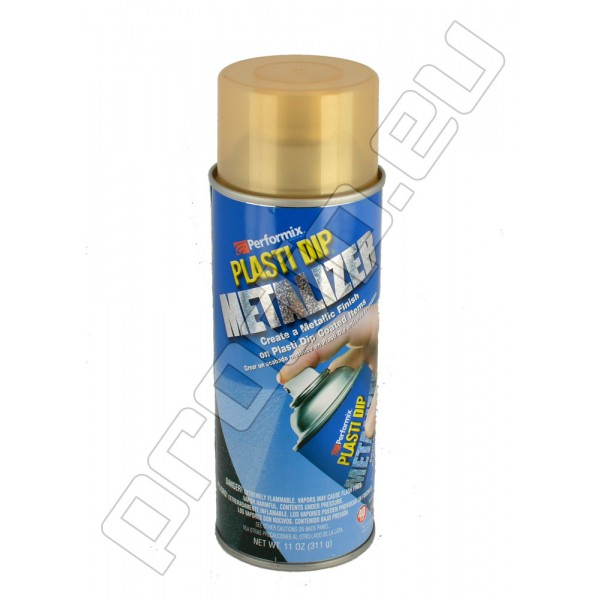Plasti Dip Spray Aerosol Can Gold Metalizer (Goldfarbe Metalizer)