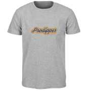 T-shirt Prodipper (Heather Gray, Orange)
